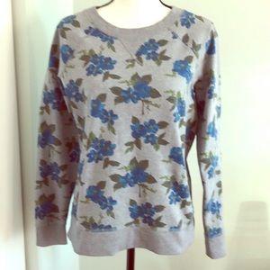 Boden Floral Print Sweatshirt